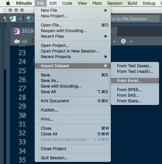 An Update on Importing Excel Data in R